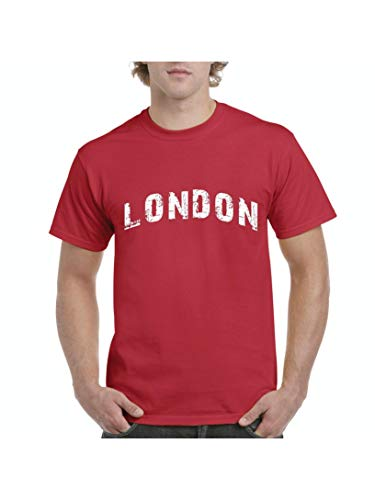Mom`s Favorite London City UK Europe Traveler Gift Men's Short Sleeve T-Shirt (XLR) -