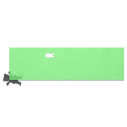 グリズリー (GRIZZLY) CLEAR CUTOUT GRIP (CLEAR GREEN) スケボー デッキテープ グリップテープ スケートボード