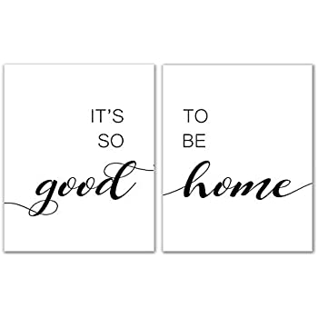 It's So Good To Be Home Print - 8