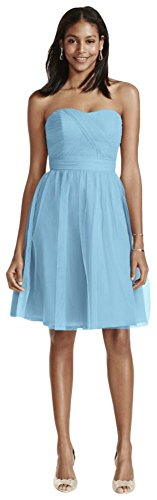 Buy capri color bridesmaid dresses - 8