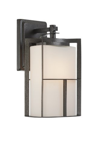 (Designers Fountain 31821-CHA Braxton 7 Inch Wall Lantern by Designers Fountain)