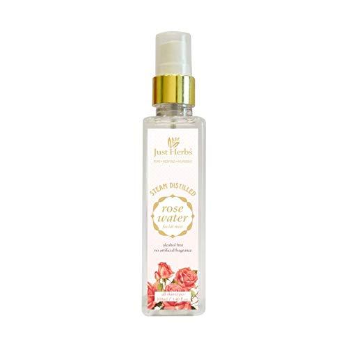 Just Herbs Rose Petal Distilled Water Facial
