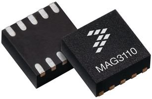 Board Mount Hall Effect / Magnetic Sensors XYZ DIGITAL MAGNETOMETER (100 pieces) by NXP