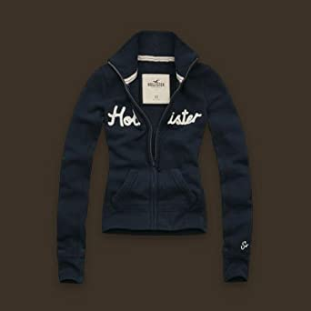 Hollister by Abercrombie Damen Jacke blau Grösse S aus den