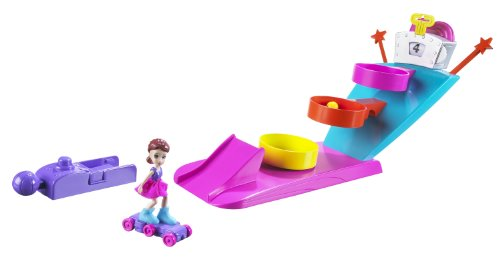 - Polly Pocket Tricked Out Game On Basketball Playset