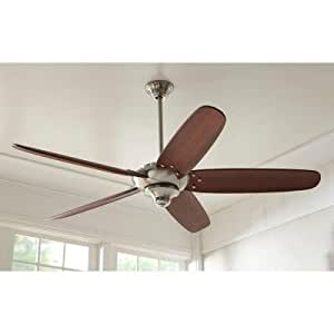 Home Decorators Collection Altura 68 In Indoor Brushed Nickel Ceiling Fan With Remote Control