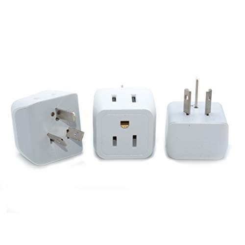 Ceptics USA to Australia, New Zealand, China Travel Adapter Plug - Type I (3 Pack) - Dual Inputs - Ultra Compact  (Does Not Convert Voltage)