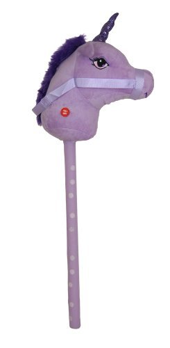 Kandy Toys 26 Inch Hobby Horse With Sound 4 Colours Available (hl63) (purple) by Kandy Toys