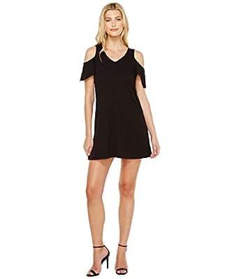 Sanctuary Women's Jolene Bare Shoulder Dress Black Dress