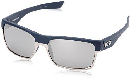 47945a1ba4 Oakley Men s Twoface OO9189-15 Polarized Iridium Rectangular  Sunglasses