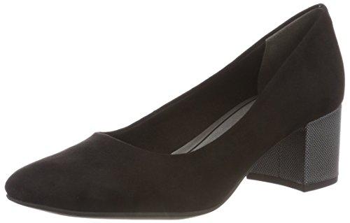 2 Para 31 Comb Tozzi Tacón 22403 black Zapatos 2 098 098 De Mujer Negro Marco 5Bwqx