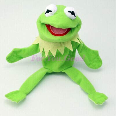 12'' Muppets Most Wanted Show Kermit The Frog Plush Hand Puppet Toy Christmas (Shows Christmas Puppet)