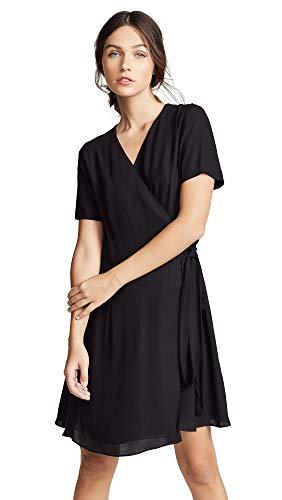 (Diane von Furstenberg Women's Savilla Dress, Black,)