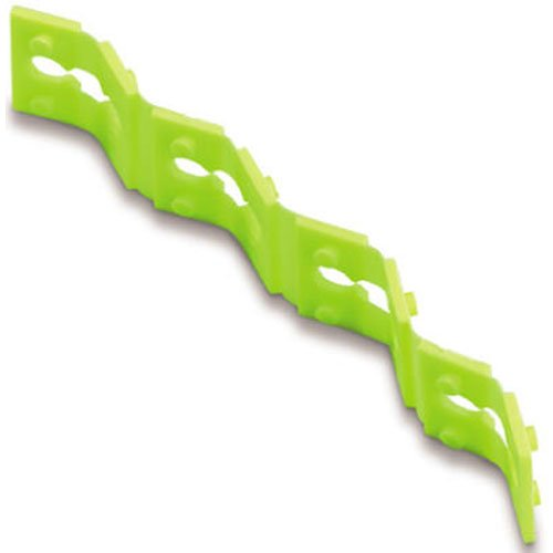 Gardner Bender GSP-04 Twist-Apart Quick Fix Electrical Spacers, 4 inch. Stack, 4 Pk. Strips, Neon Green (Switch Electric Box)