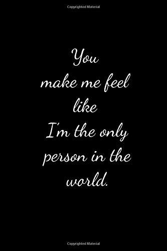 You can make me feel like loving you