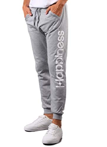 Pantalone Melange Grey Man Turca Garzato Happiness 6wdqBTx7q