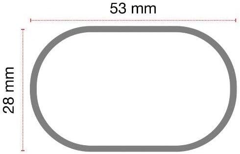 Compatible avec Mercedes Classe E SW 5p 2019 Barres Supports DE Toit pour Toit DE Voiture 130CM Barre DE Voiture Haute ET Basse Railing FIX/ÉE COMPL/ÈTEMENT AU Support DE Toit Acier Noir