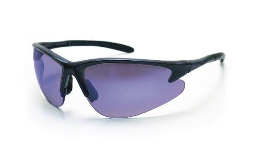 SAS Safety 540-0809 DB2 Eyewear with Polybag, Charcoal Lens/Purple Haze Frame