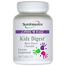 Transformation Enzymes Kidz Digest Chewable 180 Tablets berry flavor by Transformation Enzyme