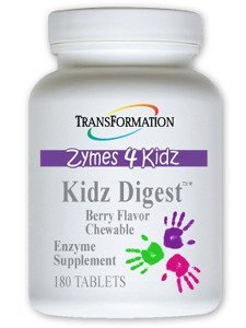Transformation Enzymes Kidz Digest Chewable 180 Tablets b...