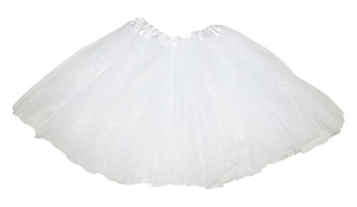 Girl Solid Ballet Dance Tutu for ages 2-10 (Madonna Dress Up Costumes)