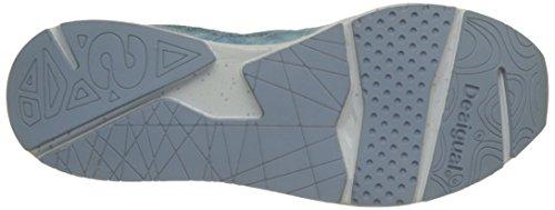 0 x entrenamiento para Desigual Lite 2 Jeans Zapatillas mujer Y azul de 5006 fYCfxwtBq
