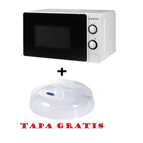 Microondas Jocel JMO011138, 20 L, 700 W Blanco + tapa ...