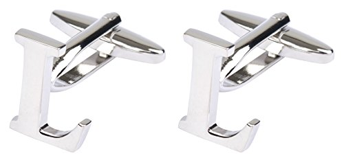 Initial Cufflinks (Alphabet Letter) by Men's Collections (L)