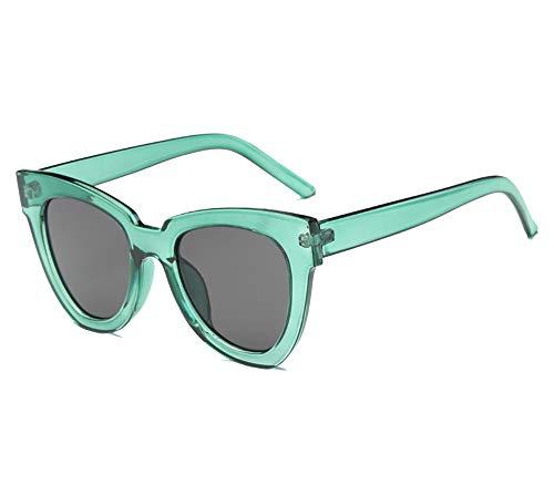 Fashion Cat eye Sunglasses Women Luxury Vintage Sun glasses Female Glasses For Women Gafas de sol uv400,Green ()