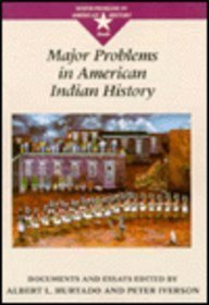 Iverson Maj Probs Amer Indian Hist (Major Problems in American History Series)