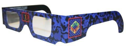 10 3D Full-Frame Glasses, ChromaDepth, STD, Generic