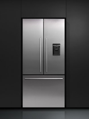 Fisher Paykel ActiveSmart RF170ADUSX4 Counter Depth French Door Refigerator with Ice and Water, 17 cu. ft.