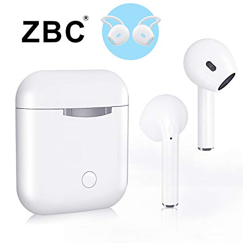 ZBC Wireless Earbuds I9 Bluetooth Earphones V5.0 Headphones in-Ear TWS Headsets Auto-Pair Airpods Mic Charging Case Sport Running Mini True Stereo Sound Noise Reduction Compatible iOS Android - Earbuds Ipod