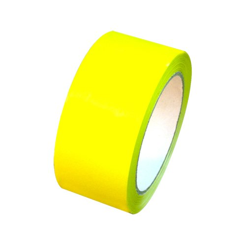 "Carton Sealing Tape 2"" x 110 yds 2 mils, several colors, Yel"