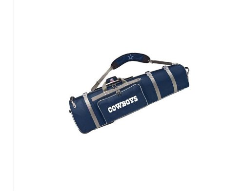 NFL Dallas Cowboys Wheeled Golf Travel Cover, Outdoor Stuffs