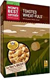 Mom's Best Toasted Wheat-Fuls - 16.5 oz (Pack of 4)