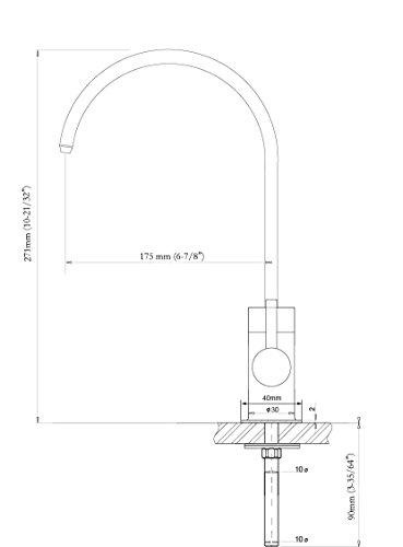 Boen Ss105 Lead Free Water Purifier Faucet Sus 304 Stainless Steel