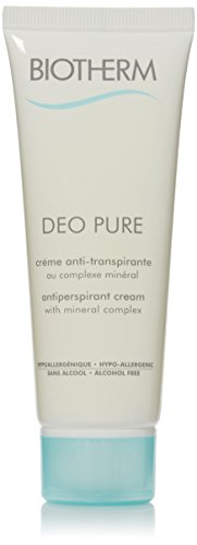 Biotherm Deo Pure Antiperspirant, Cream, 2.53 Ounce