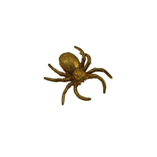 CTOC Spider Bronze small Statuette Handmade Figurine Souvenir for a -
