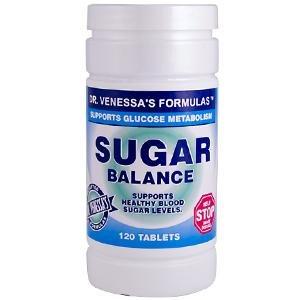 - DR. VENESSA'S FORMULAS SUGAR BALANCE SUPPORT, 120 TAB