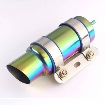 MHDS Bheema - Refrigerador de aceite para radiador de motocicleta GY6 o motor de entrada de 1,8 cm: Amazon.es: Coche y moto