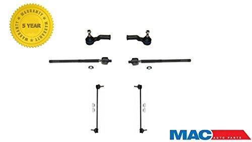 Mac Auto Parts 144017 C30 C70 S40 V50 6Pc Tie Rod & Sway Bar Kit REF# ES60 861 458 K8