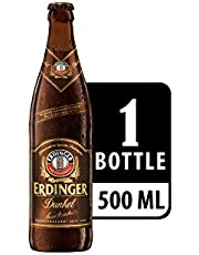 Erdinger Dunkel Dark Wheat Beer Bottle, 500ml