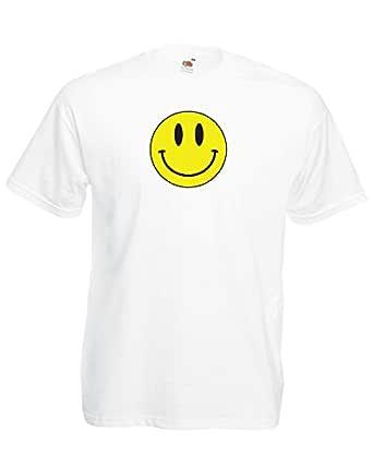 Camiseta Unisex con diseño clásico de Emoji y Cara Sonriente ...
