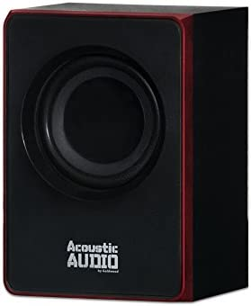 Acoustic Audio by Goldwood 2.1 Bluetooth Speaker System 2.1-Channel Home Theater Speaker System, Black (AA2103) 31krVdIv9CL