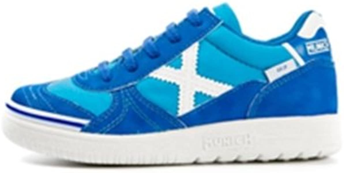 Munich G 3 KID - Zapatillas deportivas para niño, color azul/blanco, talla