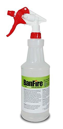 BanFire Spray-On Fire Retardant for Fabric