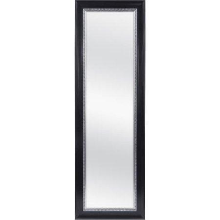 """Mainstays Over-the-Door Mirror, 17"""" x 53"""" Black"""