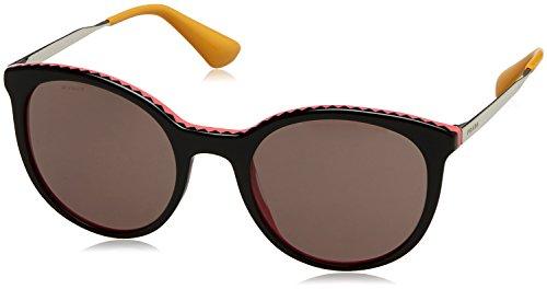 Prada Women's 0PR 17SS Black/Pink/Purple Brown - Purple Prada Sunglasses