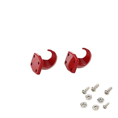 Sharplace 2Pieces 1/10 RC Car Crawler Hook Winch for 1:10 RC RC4wd D110 TF2 Car Truck Boom Racing